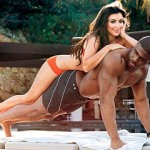 reggie bush strongest man in world with kk on back