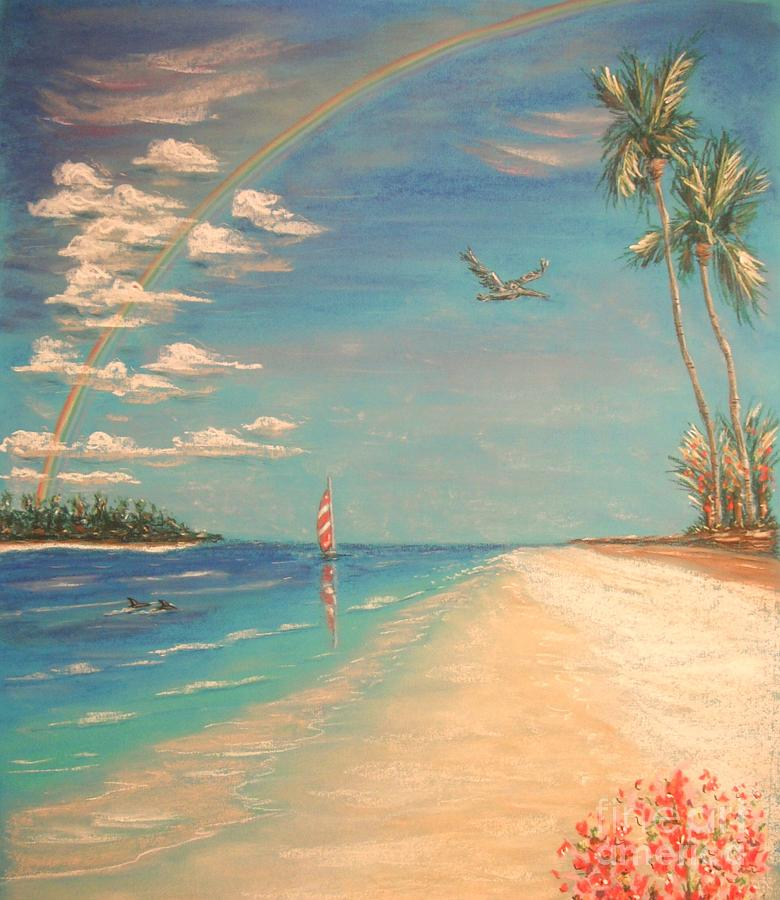 dolphin-bay-tropical-art